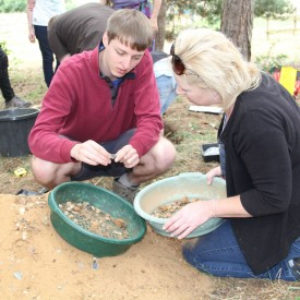 Sifting the sand for artefacts