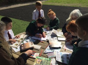 School Children Discover the Brecks Uncovered